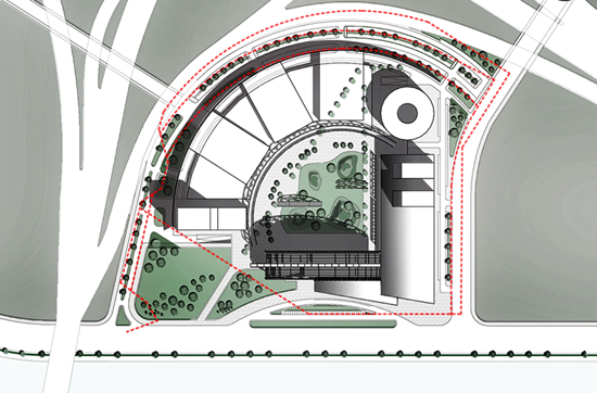 Guangzhou Circle's floor plan