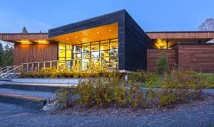 Discovery & Visitor Center, Parc National Du Lac-Témiscouata By Bisson + Charron Architects
